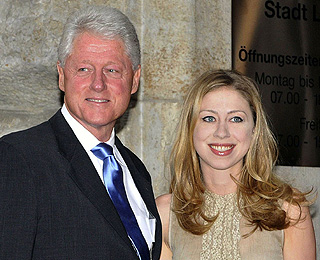 Chelsea Clinton orders dad Bill to lose weight for wedding