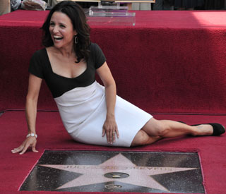 Julia Louis-Dreyfus' laughs off Walk of Fame mistake