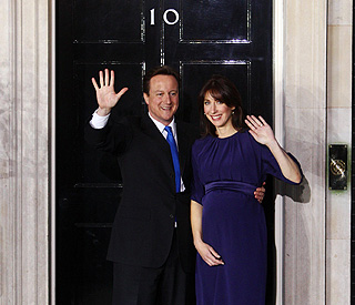 David Cameron becomes Britain's prime minister