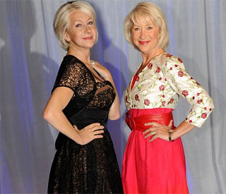 Double takes all round as Helen Mirren meets waxwork