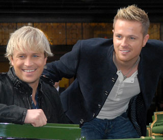 Westlife's Nicky Byrne hospitalised after play-fight with Kian