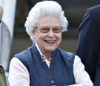 The Queen in high spirits at Windsor Horse Show