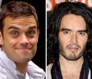 Russell Brand and Robbie teaming up for Cup tune
