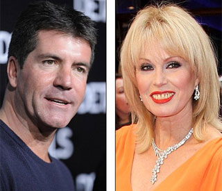 Royal honours for Simon Cowell and Joanna Lumley