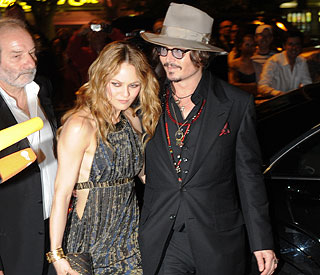 Rare appearance from Johnny Depp and love Vanessa