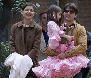 Tom Cruise turns to daughter Suri for career advice