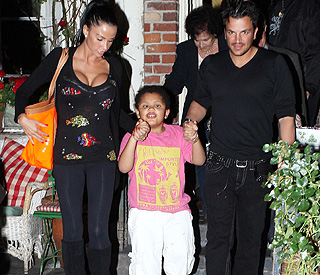 Peter Andre says Katie Price has banned him from seeing stepson Harvey