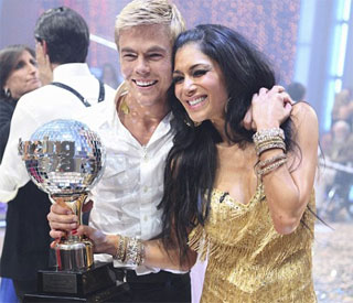 Lewis Hamilton's girl Nicole Scherzinger named dancing queen