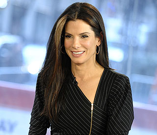Sandra Bullock's first public appearance since split