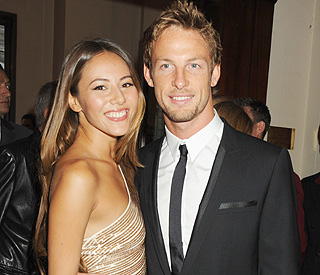 End of the road for Jenson Button and Jessica Michibata