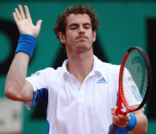 Andy Murray knocked out of French Open