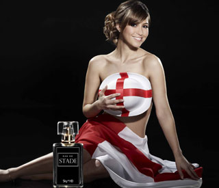 Rachel Stevens launches World Cup perfume