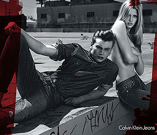 Lara Stone is the new face of Calvin Klein