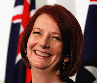 Australia has first woman prime minister