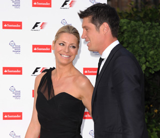 Tess Daly and Vernon smiling again after text scandal