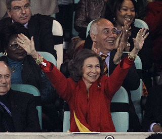 Ecstatic Queen Sofia leads Spain's World Cup fiesta