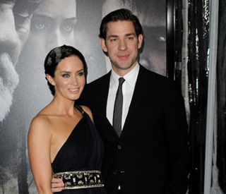 Italian wedding for Emily Blunt and TV star fiancé