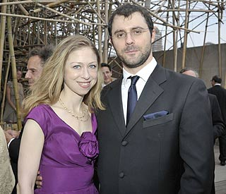 Ahead of wedding, Chelsea and fiancé mix with royalty