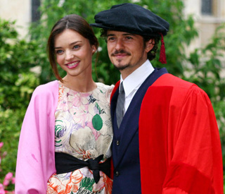 'Chuffed' Orlando Bloom receives honorary degree