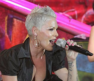 'Nothing broken' says Pink after stage stunt goes wrong