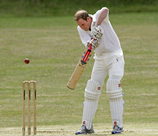 Howzat! William pads up for charity cricket match