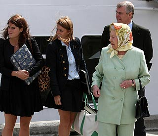 Scottish cruise for Bea, Eugenie and royal family