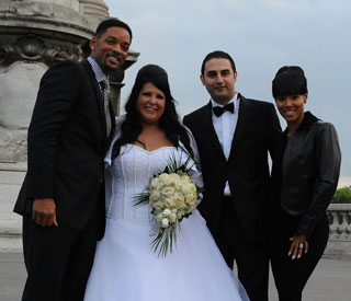 Say cheese! Will Smith crashes Paris wedding