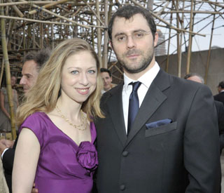 Who is the man who won Chelsea Clinton's heart?