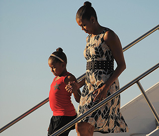 Michelle Obama heading to Marbella on holiday