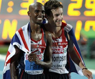 'Glimpse' of London 2012 as Brits bag gold and silver