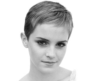 Emma Watson's radical new hair cut