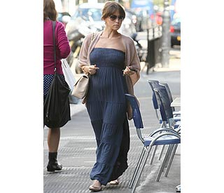 Rachel Stevens: contender for most stylish mum-to-be