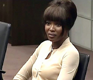 Naomi Campbell gives statement after Hague dispute