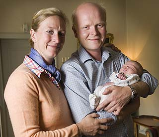 Princess Nathalie and husband welcome little prince