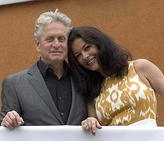 Michael Douglas 'optimistic' about treatment for tumour