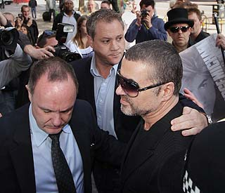 George Michael pleads guilty to driving under influence