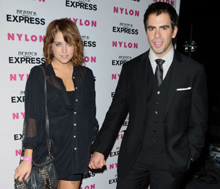 'Peaches is not a stripper' - Eli Roth defends his girl