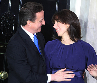 Baby joy for David Cameron and Samantha