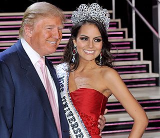 Donald Trump congratulates new Miss Universe