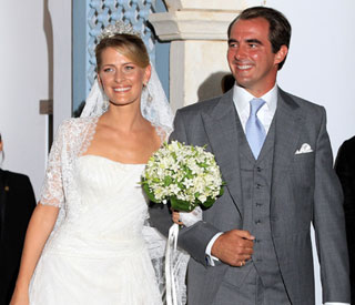 European nobles witness Greek royal wedding