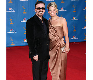 Ricky Gervais' amazing weight loss the talk of Emmys