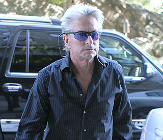 Michael Douglas' brave face as he battles tumour
