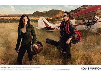 Bono and wife Ali Hewson star in new Louis Vuitton ad