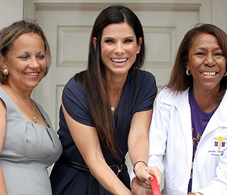 Sandra Bullock on the adoption of 'little Cajun cookie'