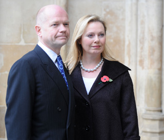 Our infertility heartbreak: William Hague on marriage