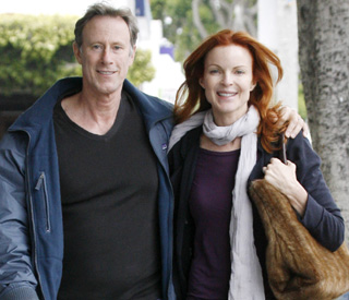 Marcia Cross and husband enjoying life after cancer