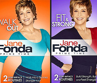 Fit and fabulous at 72: Jane Fonda's new exercise DVD