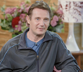 Liam Neeson dating 'wonderful' London-based blonde