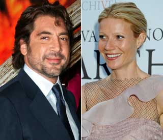 Gwyneth and Javier join the celebrity Gleek ranks