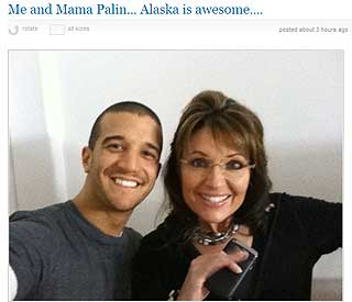 'Me and Mama Palin...': Bristol takes partner to Alaska